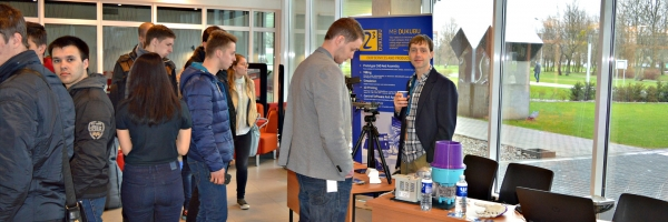 Student faire at Kaunas university of technology